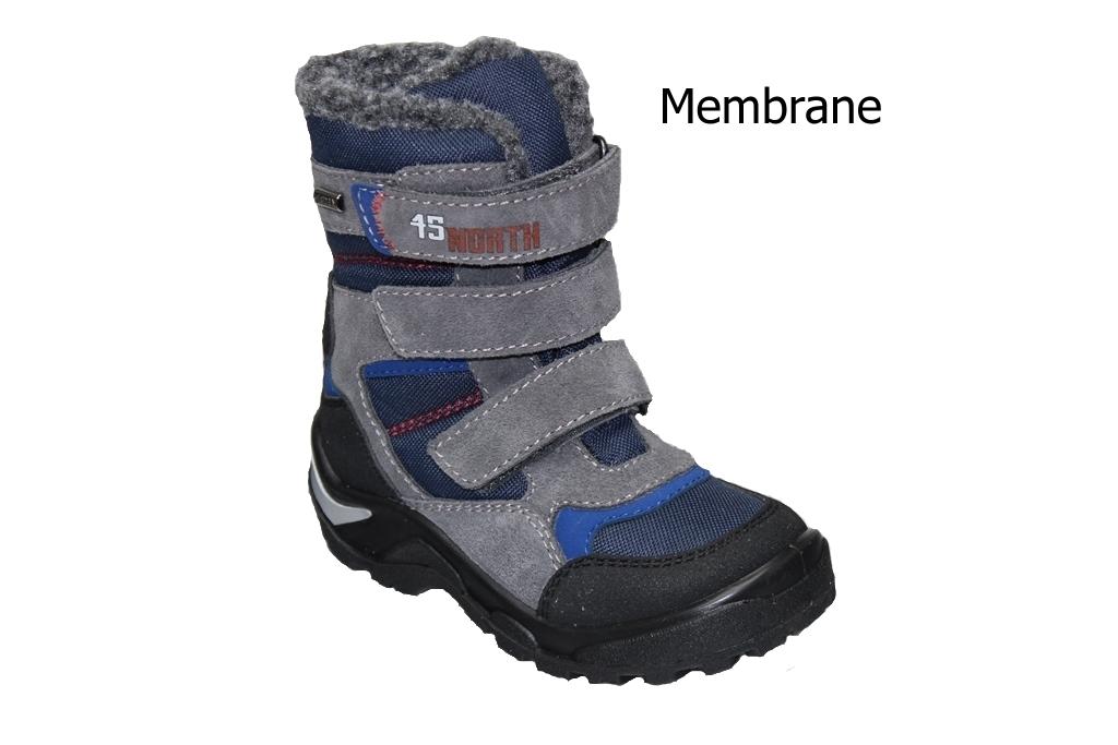 dcbb673ceca Dětská zimní obuv s membránou Santé - OR RX35806 SQUALO