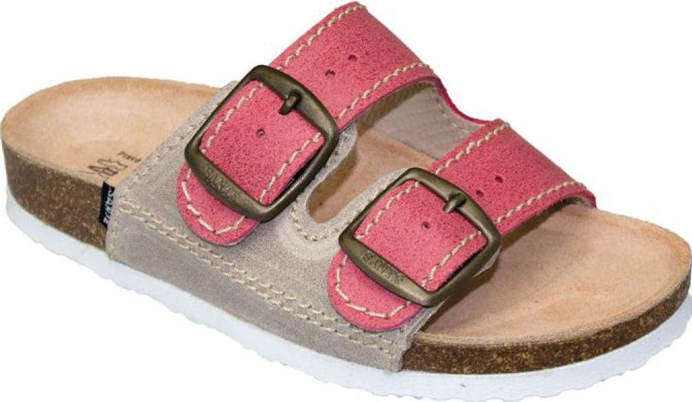 3846d0d2e45 Dětské zdravotní pantofle - Santé - D 202 C30 S12 BP